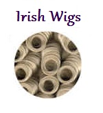 picture of a curly irish wig